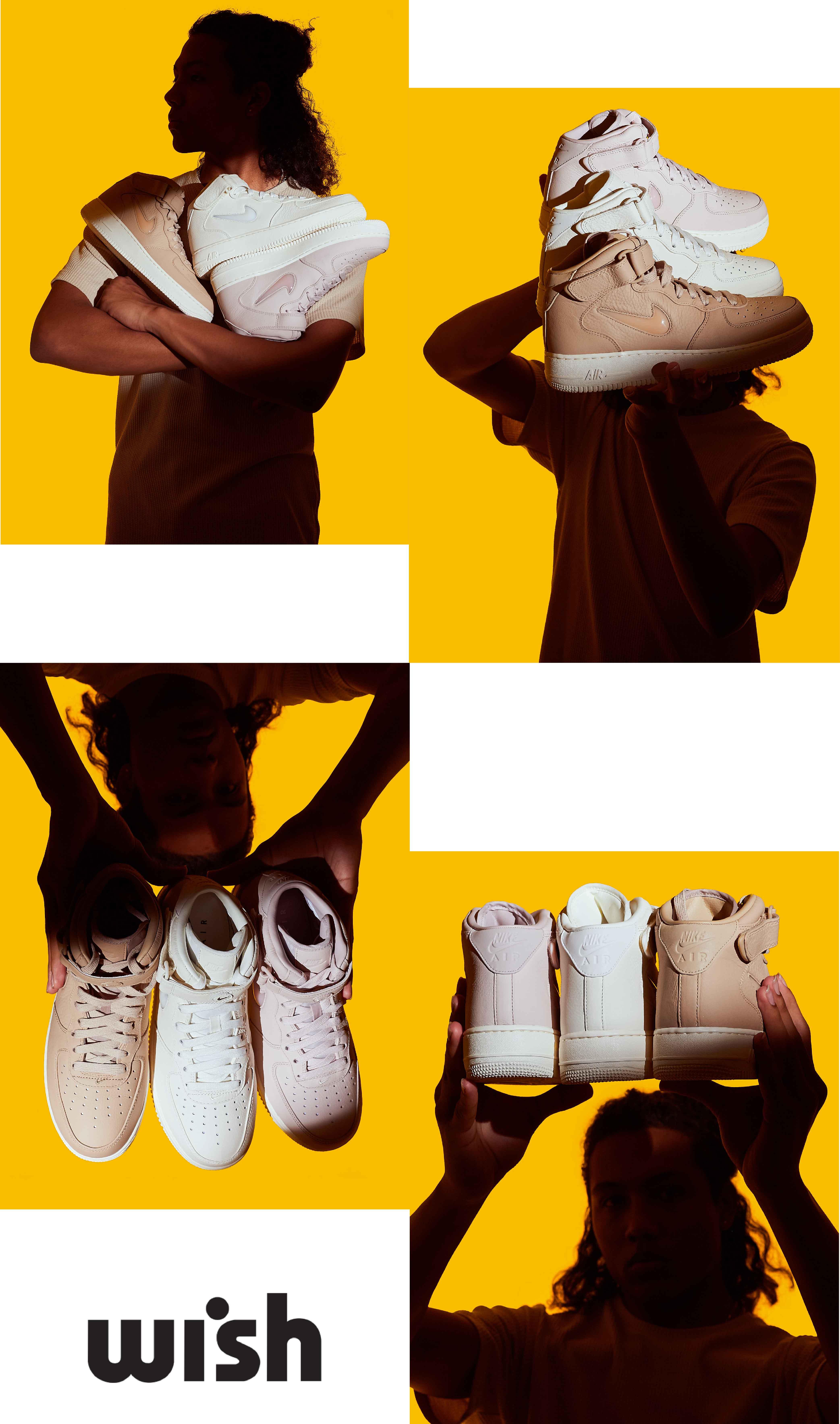 Nike AF1 PRM Pack