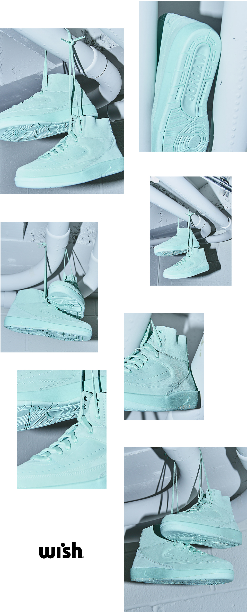 Air Jordan 2 Retro Decon Mint Foam