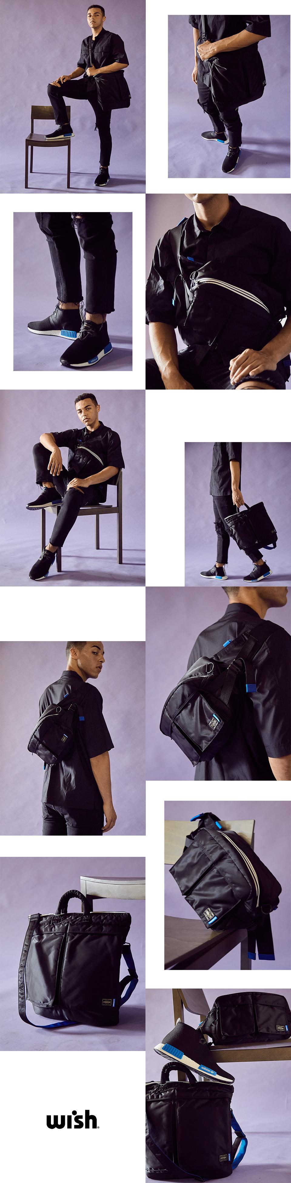 Adidas x Porter