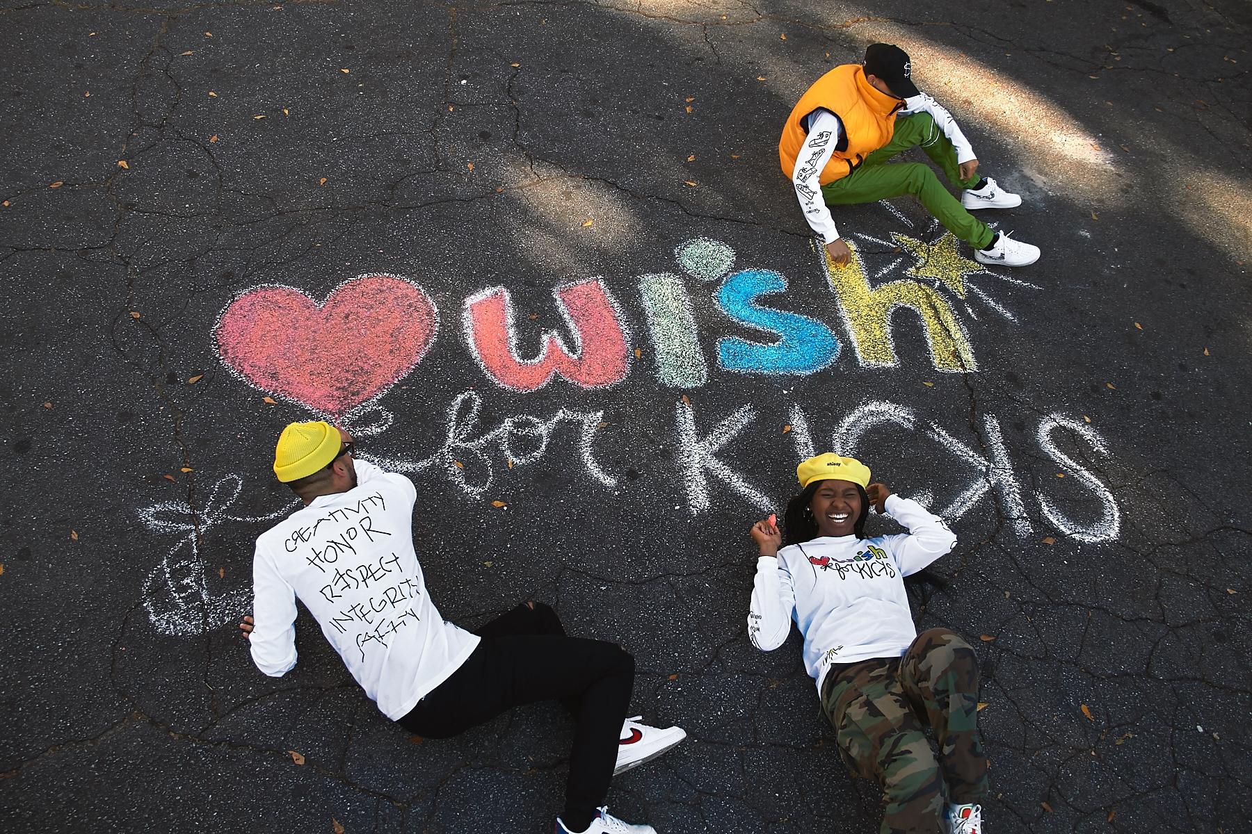 WISH FOR KICKS 'GIVING BACK' TEE #WishForKicks
