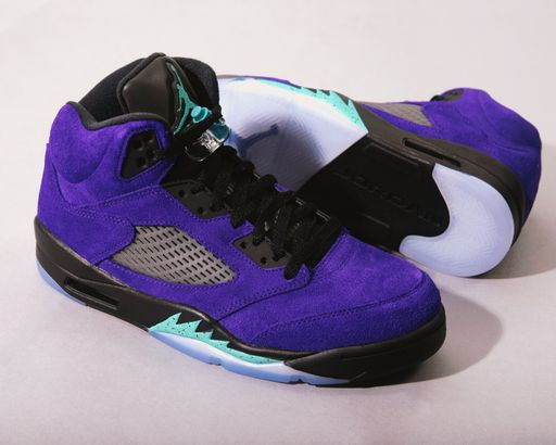 "Coming Soon: Jordan V ""Purple Grape"""