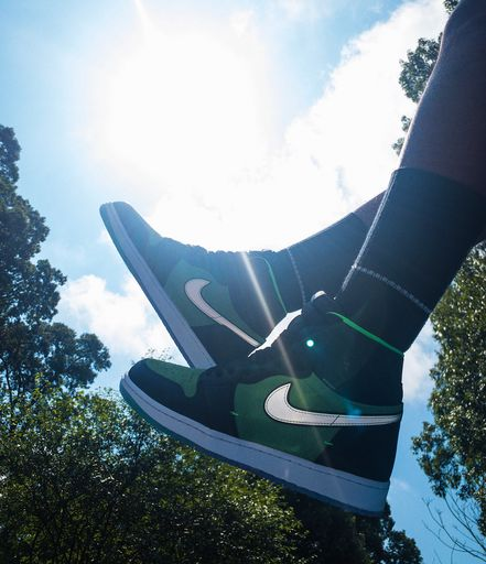"Coming Soon: Air Jordan 1 Zoom ""Zen Green"""